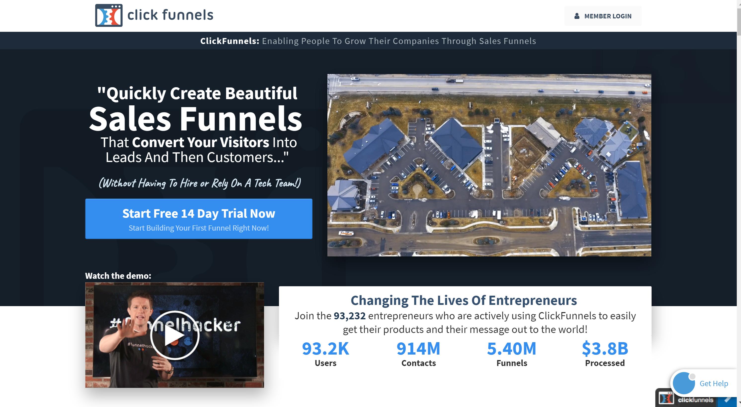 ClickFunnels Overview- engagebay vs clickfunnels
