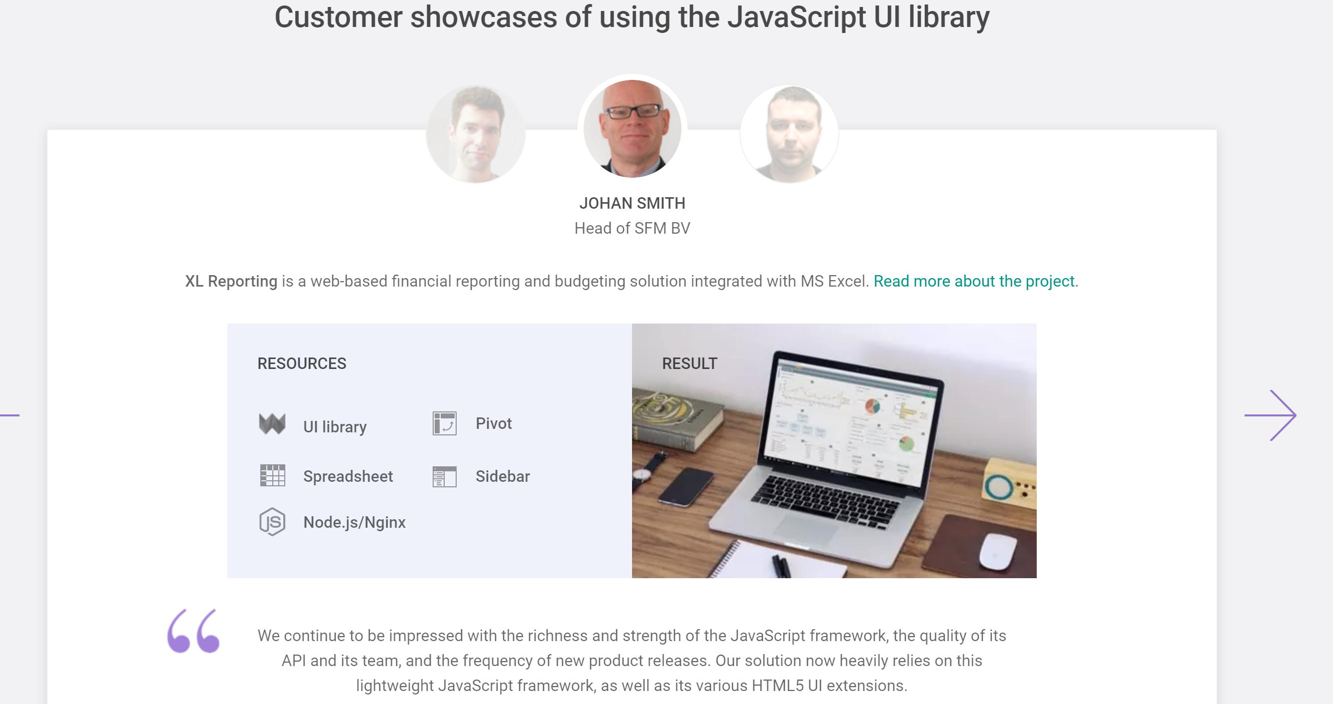 webix javascript review online