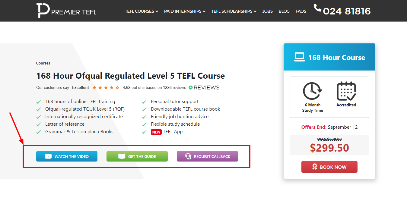 168 Hour Ofqual Regulated Level 5 TEFL Course - Premier TEFL Review