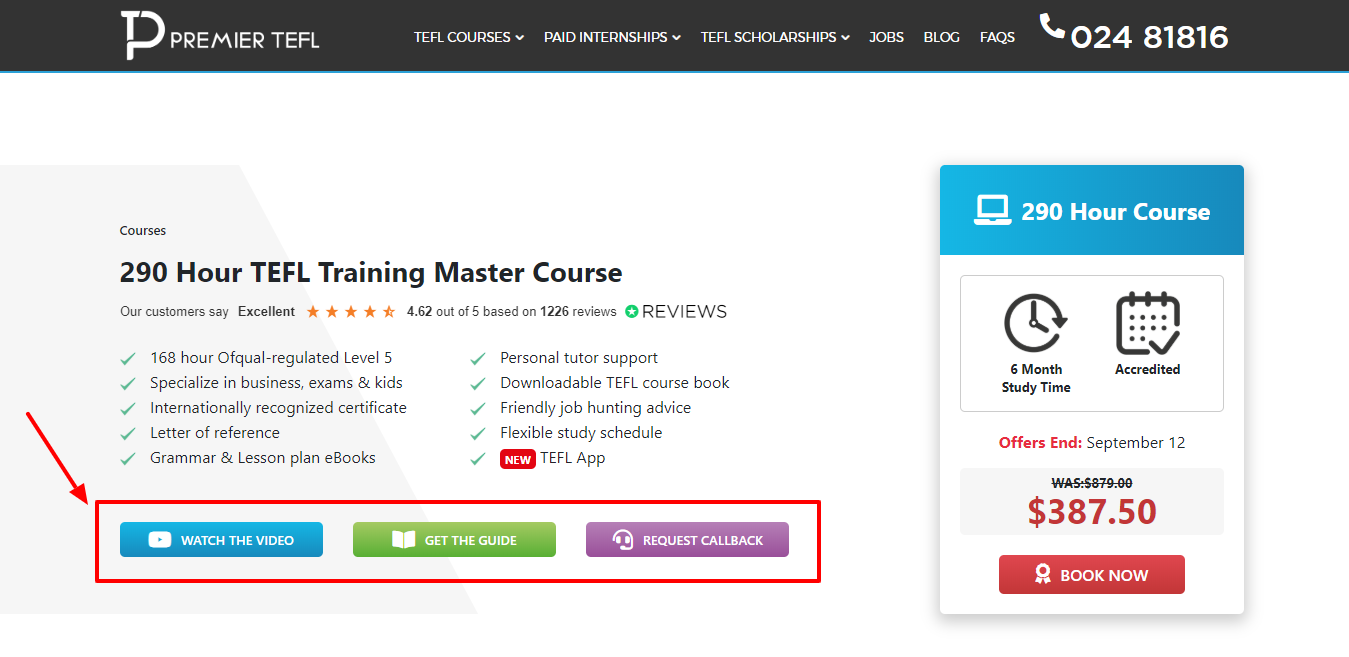 290 Hour TEFL Training Master Course - Premier TEFL Review
