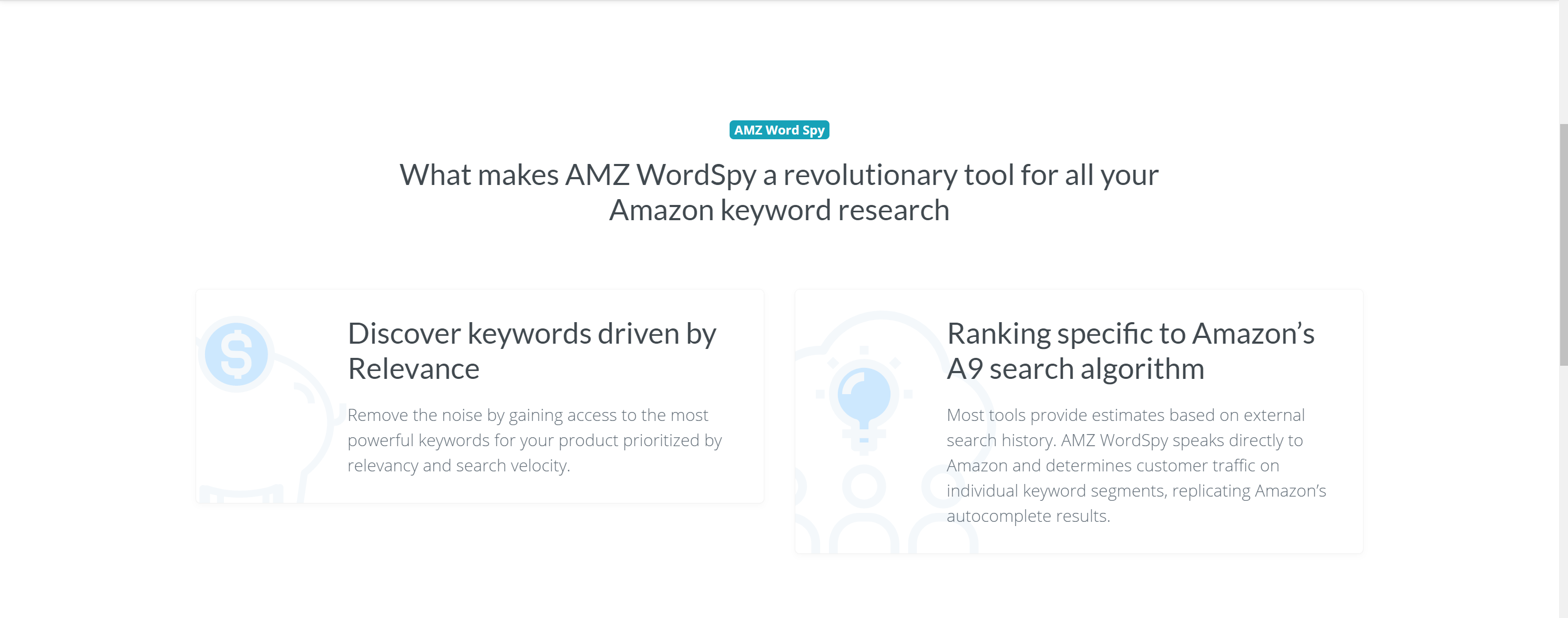 AMZ Keyword tools