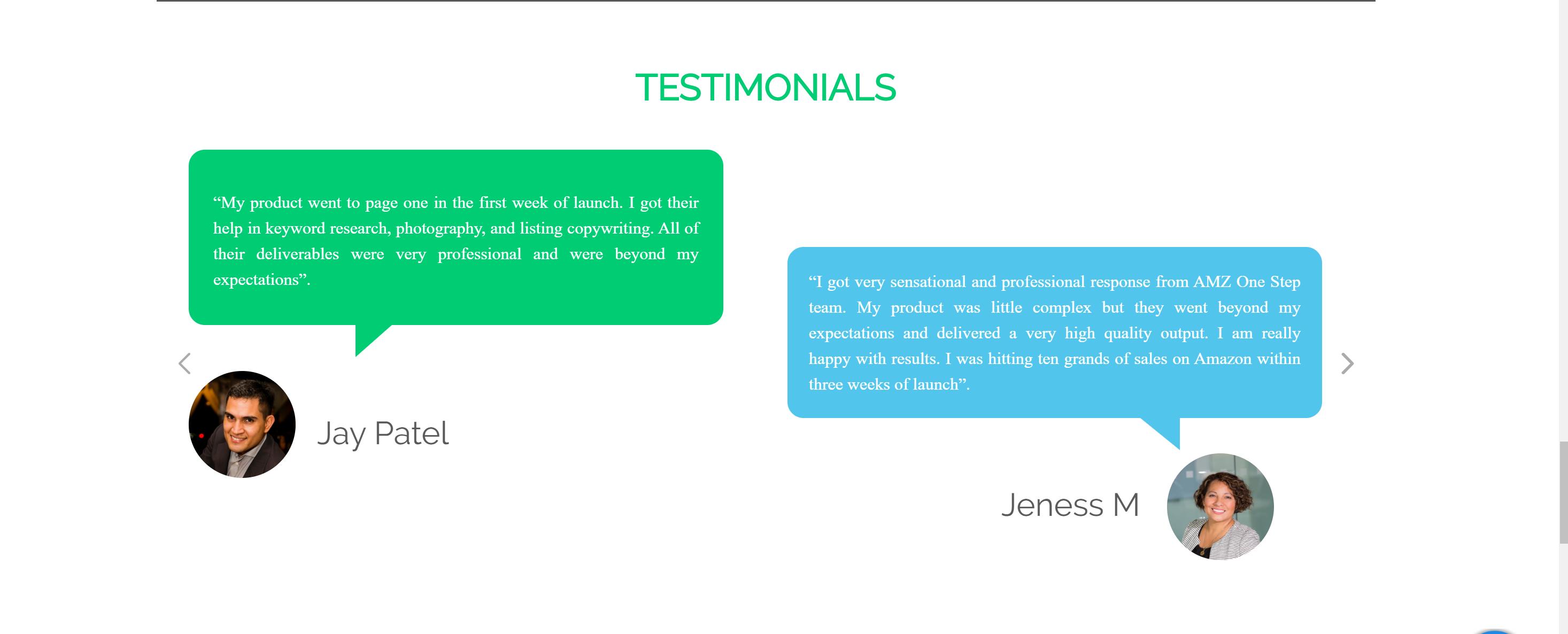 AMZ WordSpy testimonials