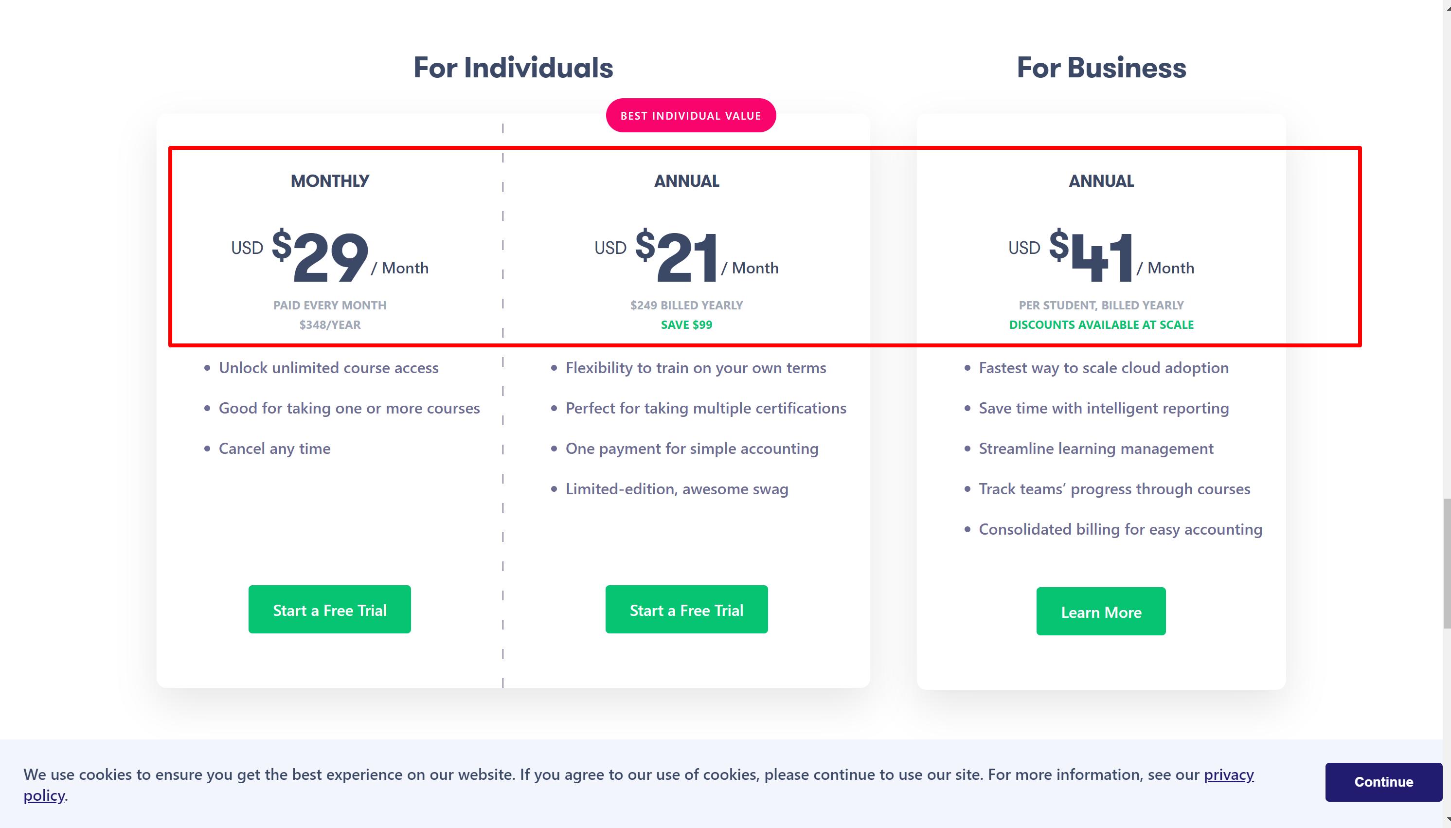 AWS Lambda online courses