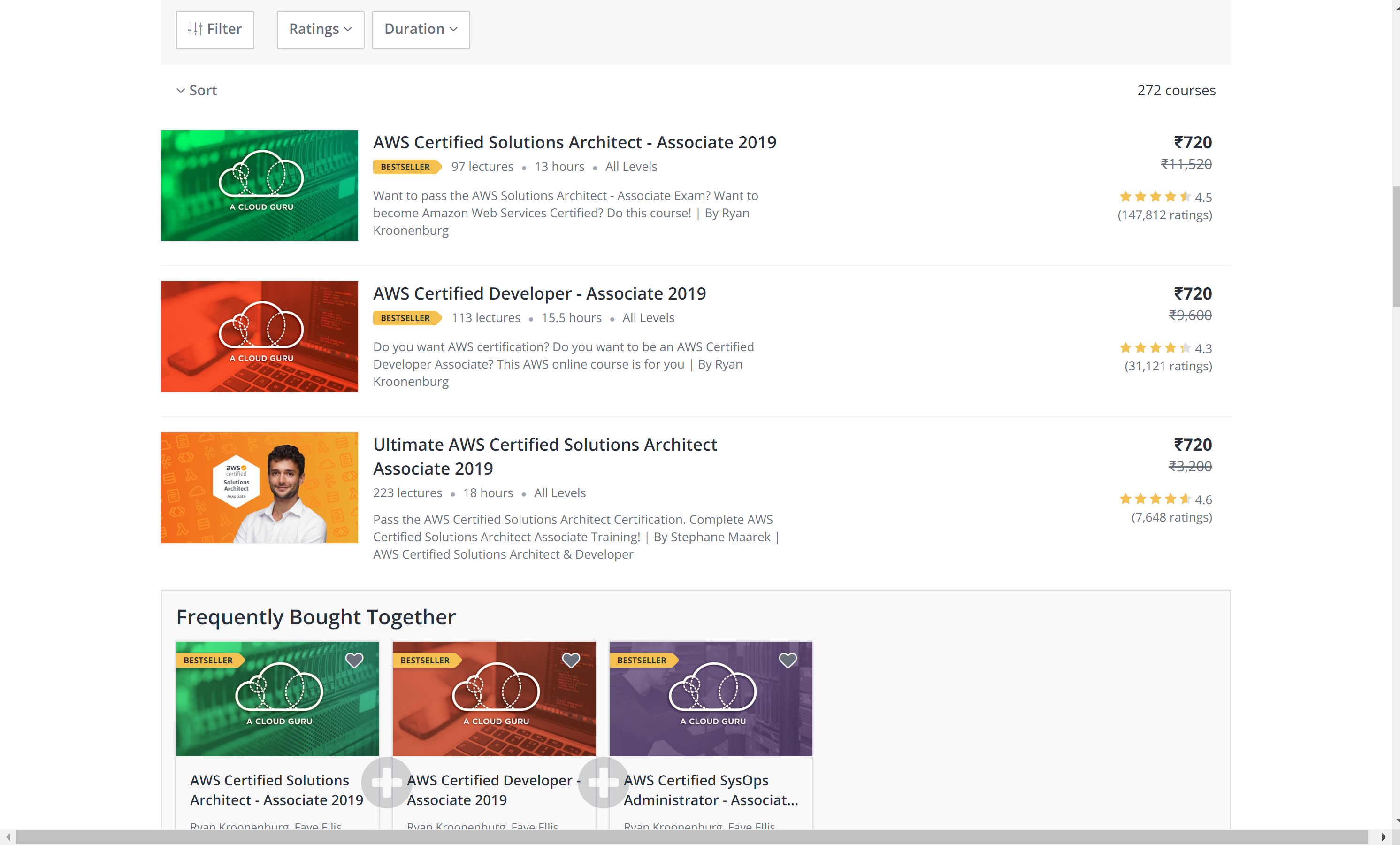 AWS lambda course for Udemy