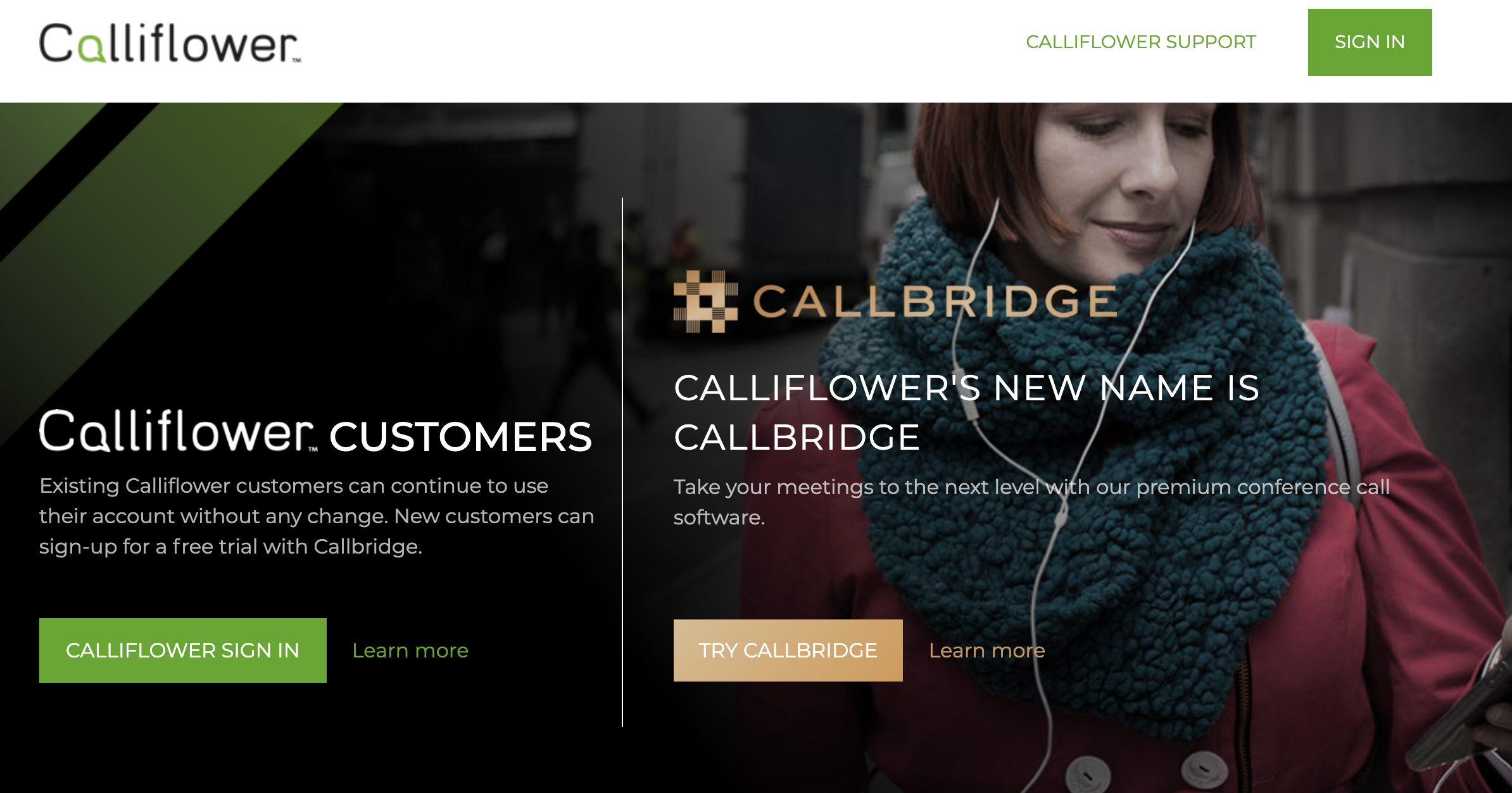 Calliflower - Conference calling