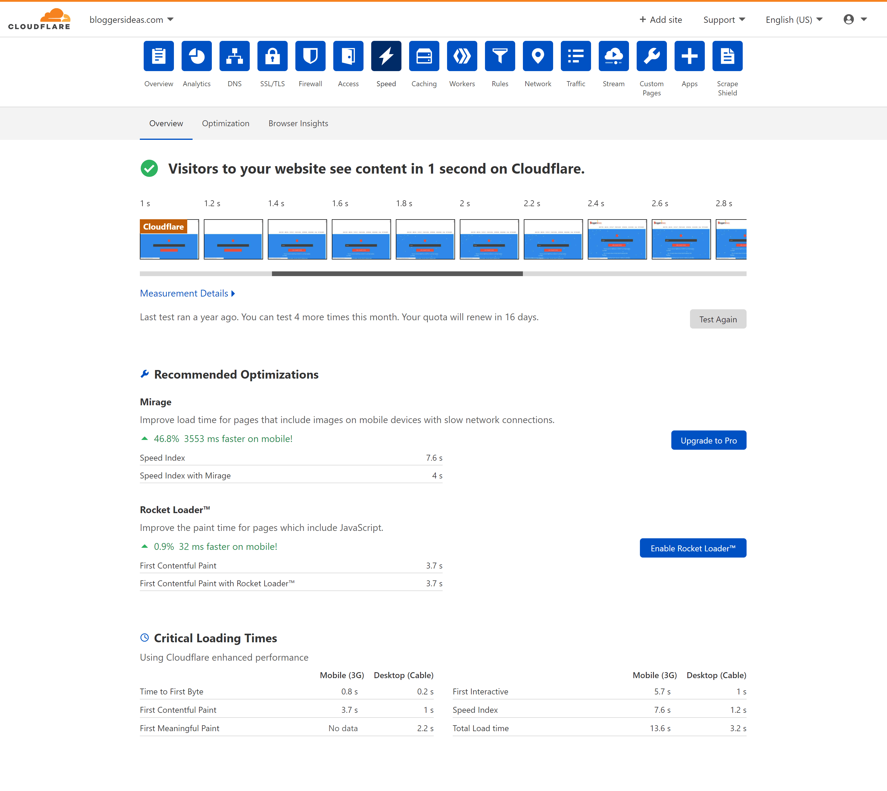 Cloudflare speed performance vs stackpath