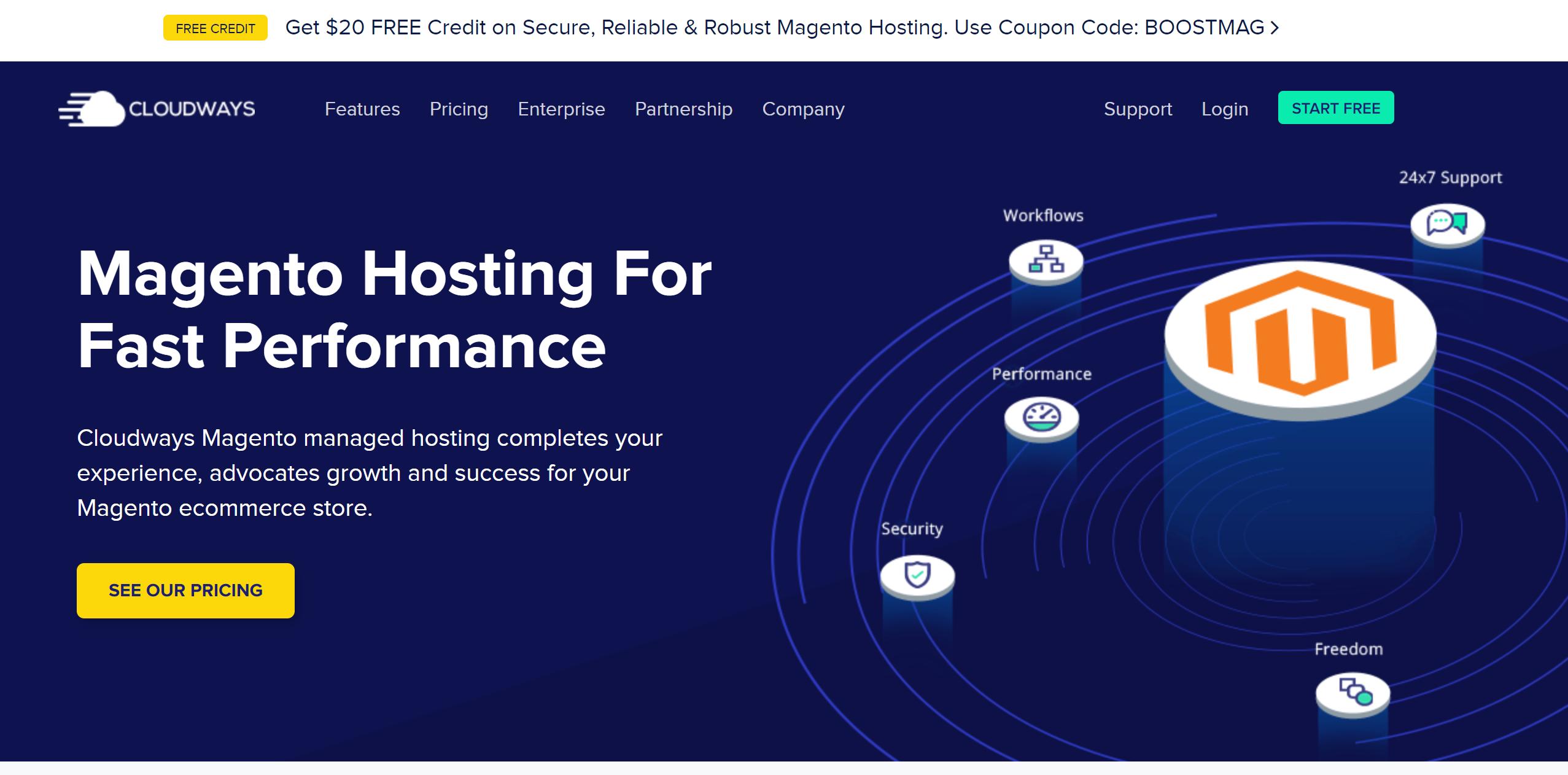 Cloudways magento hosting