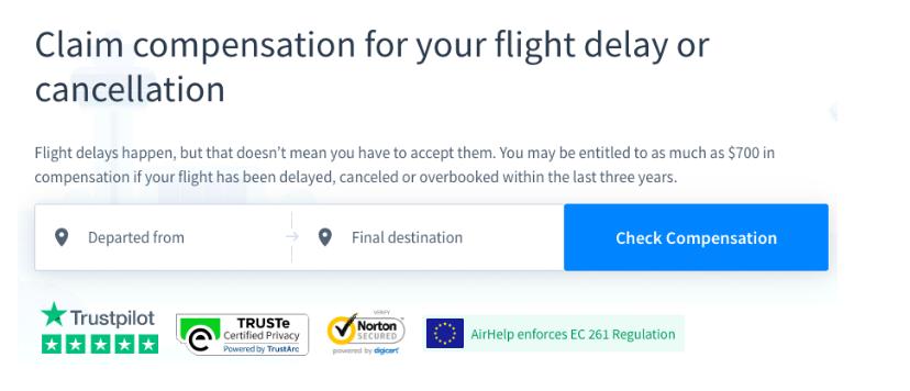 AirHelp Affiliate Program Review - Claim Compensation