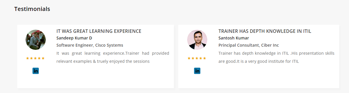 Excelr Review - Testimonials