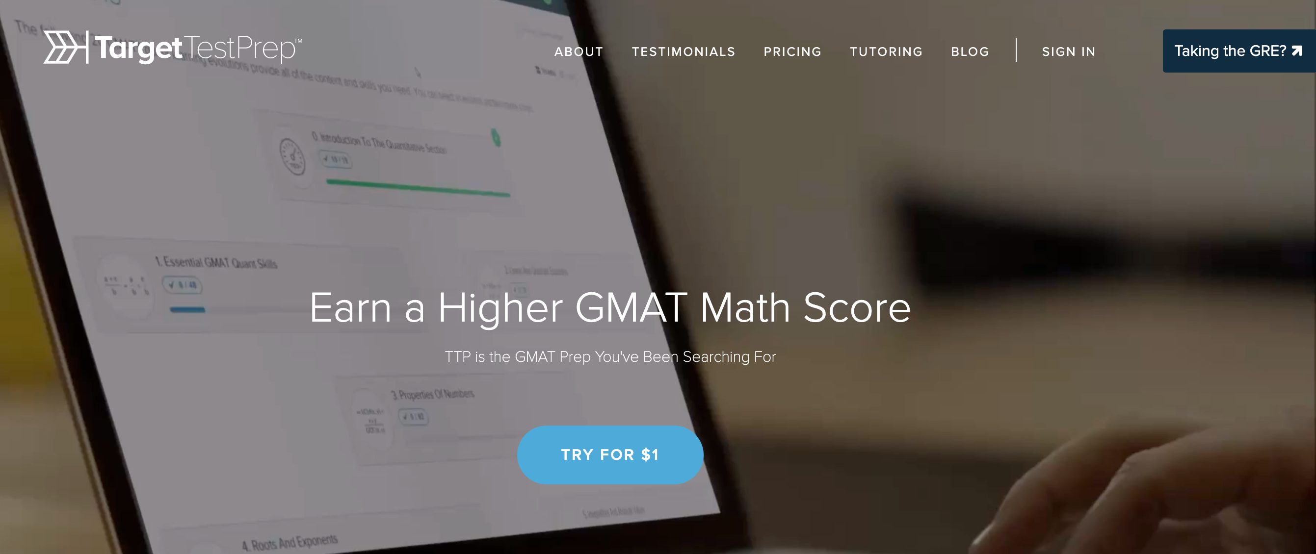GMAT Prep- TargetTestPrep