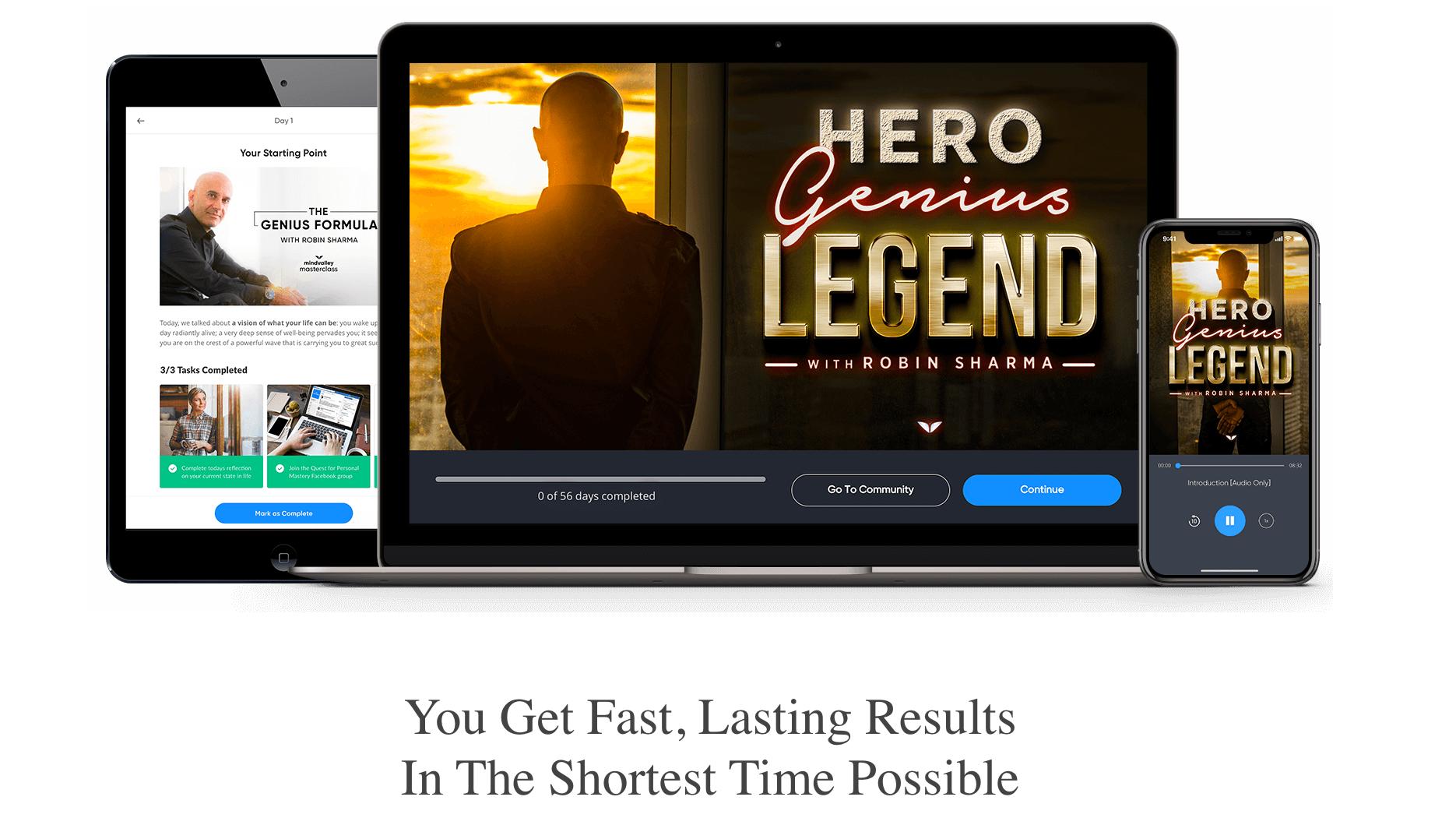 Hero Genius Legend Course Review- Details