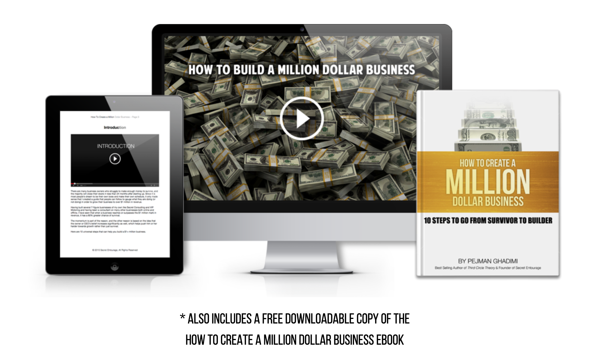 How To Create A Million Dollar Business Course – Secret Entourage Academy