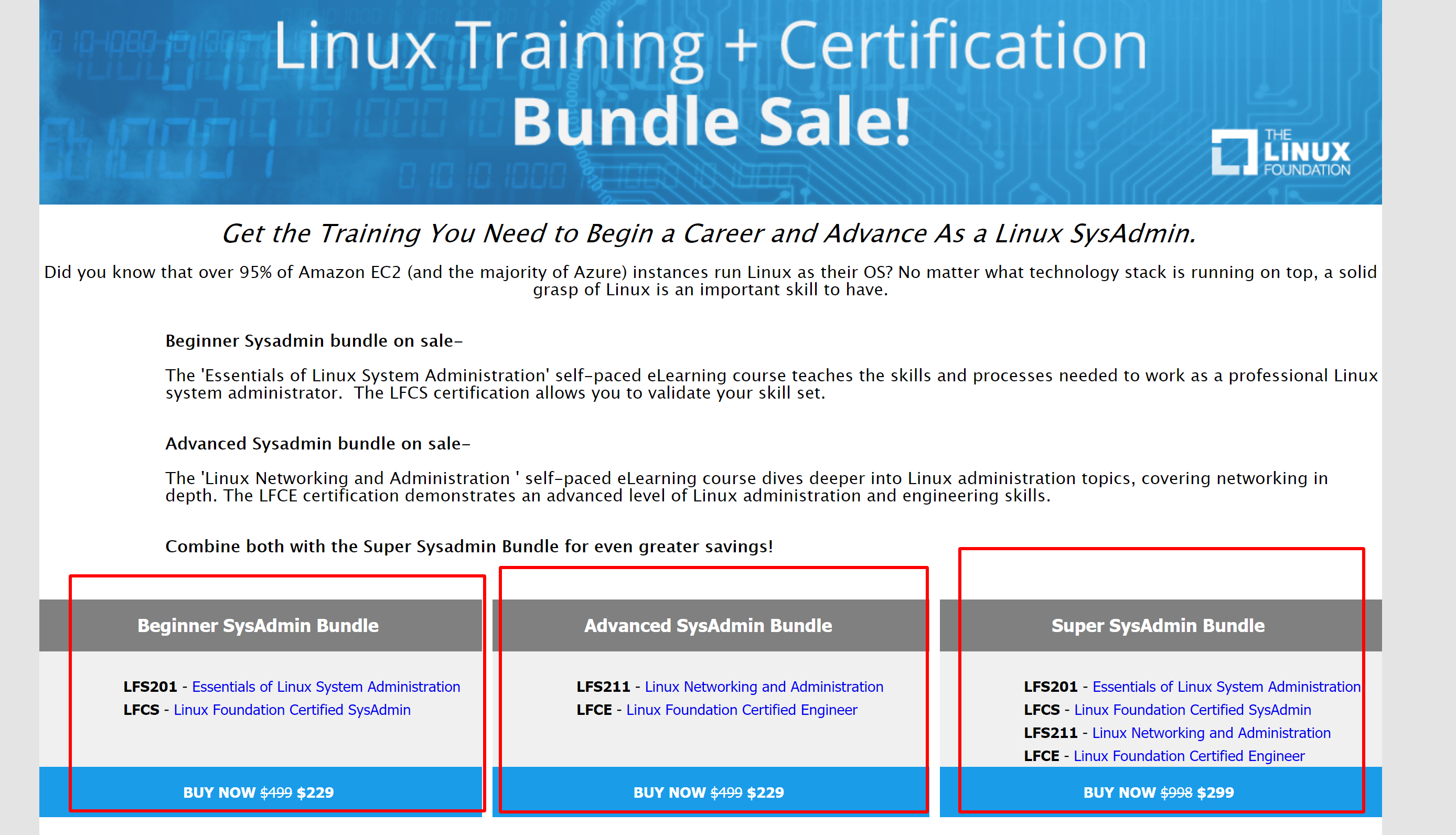 Linux foundation training discount coupons