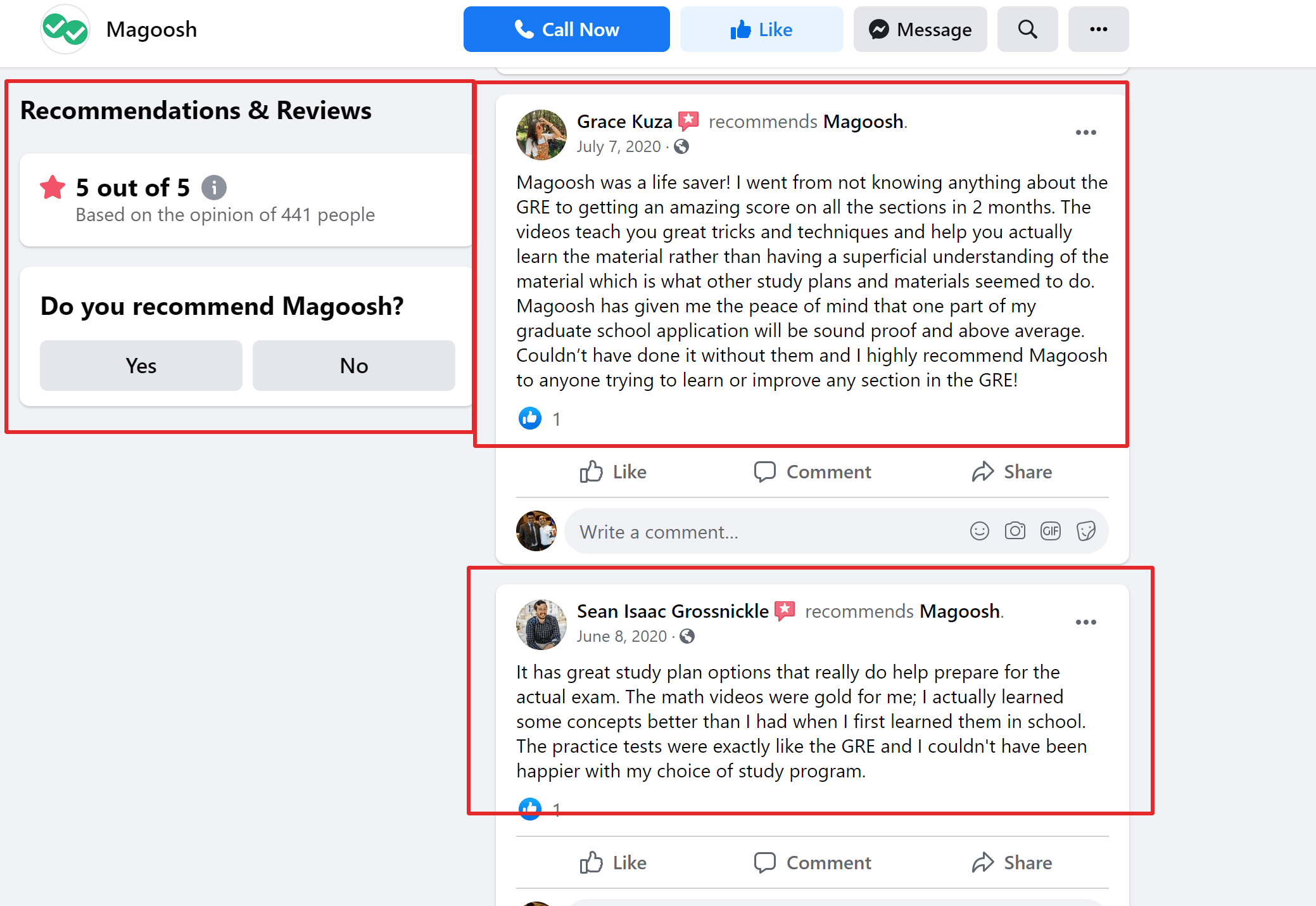 Magoosh Review by students for SAT