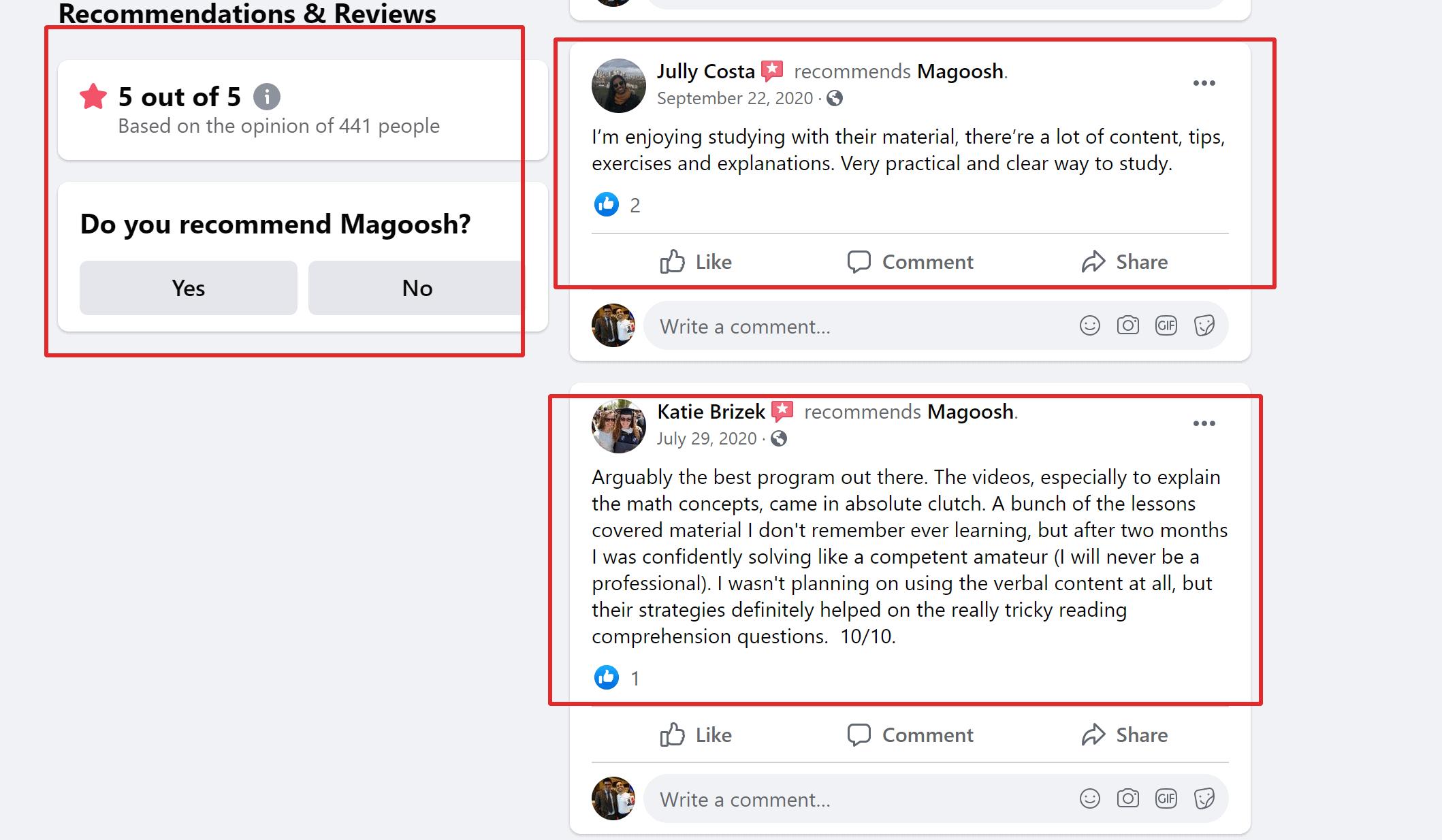 Magoosh Reviews of SAT Pricing