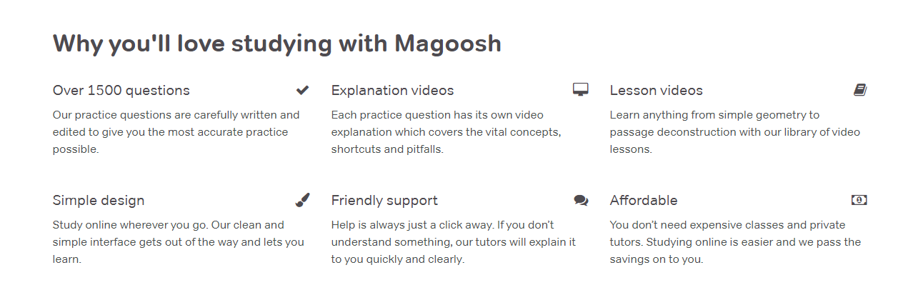 Magoosh SAT Review - studing