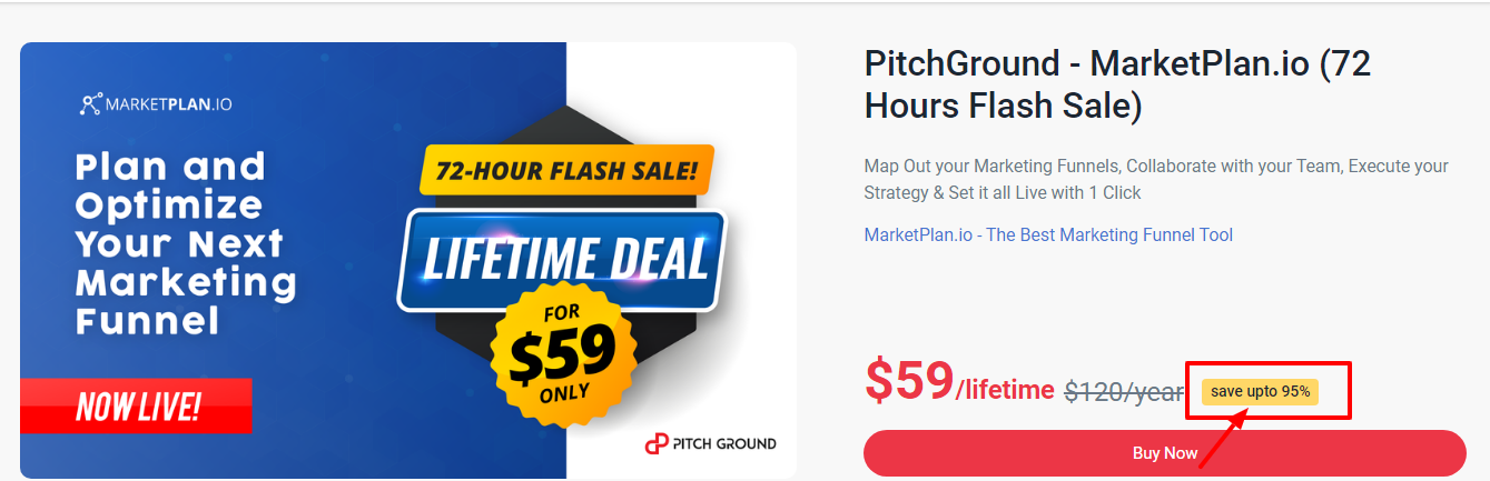 Pitchground Deals &Offers Review - MarketPlan