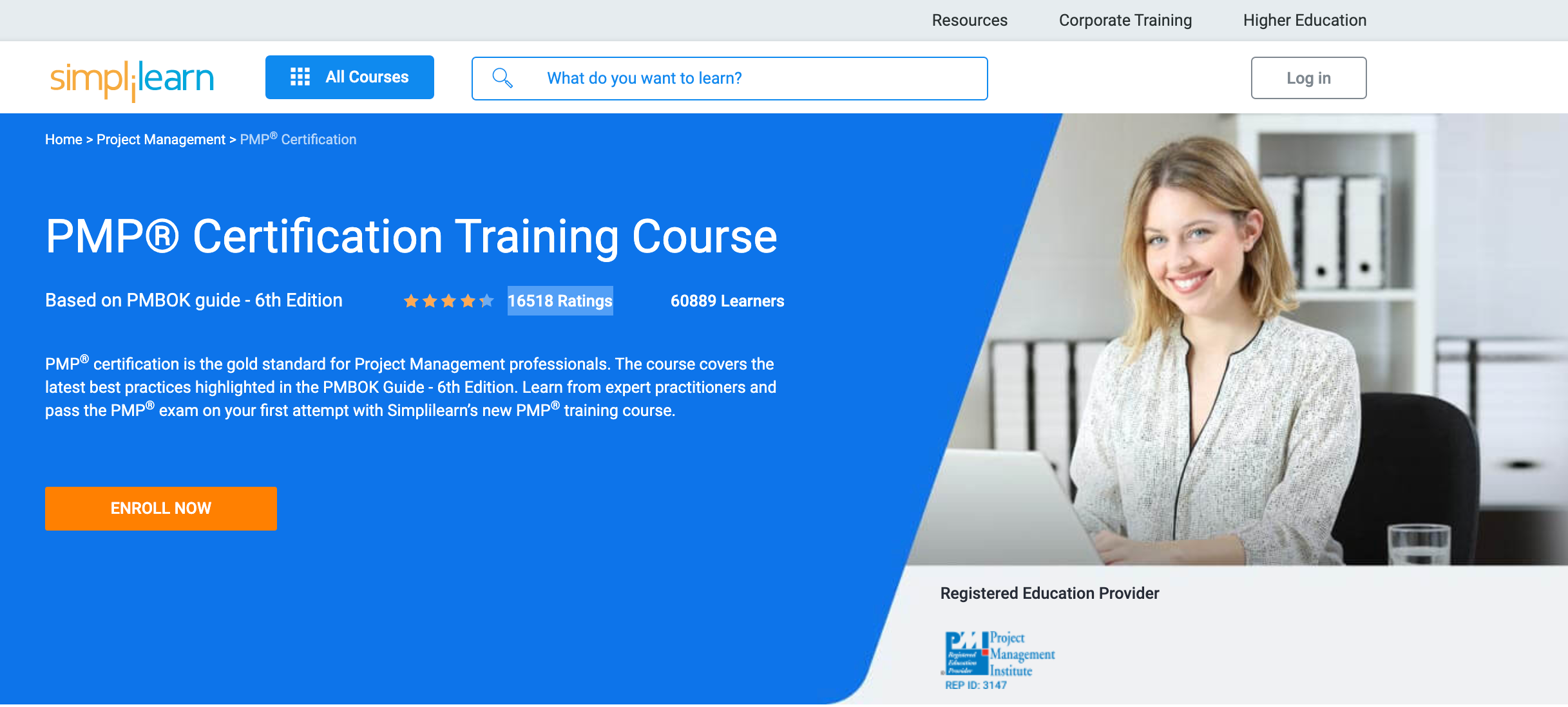 PMP Certifications Training