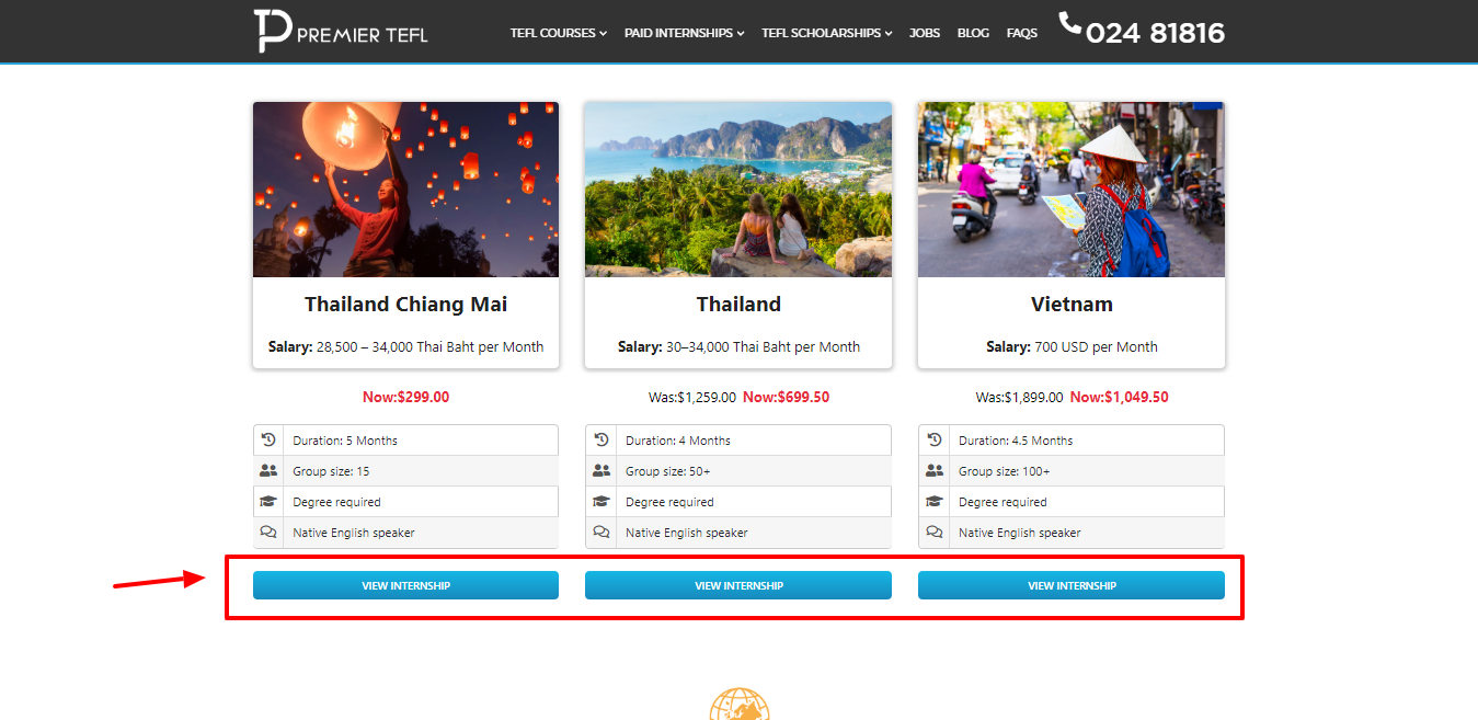 Paid TEFL internships all over the world - Premier TEFL Review