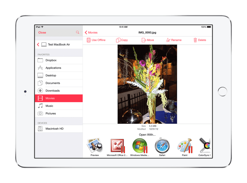 Parallels remtoe access server