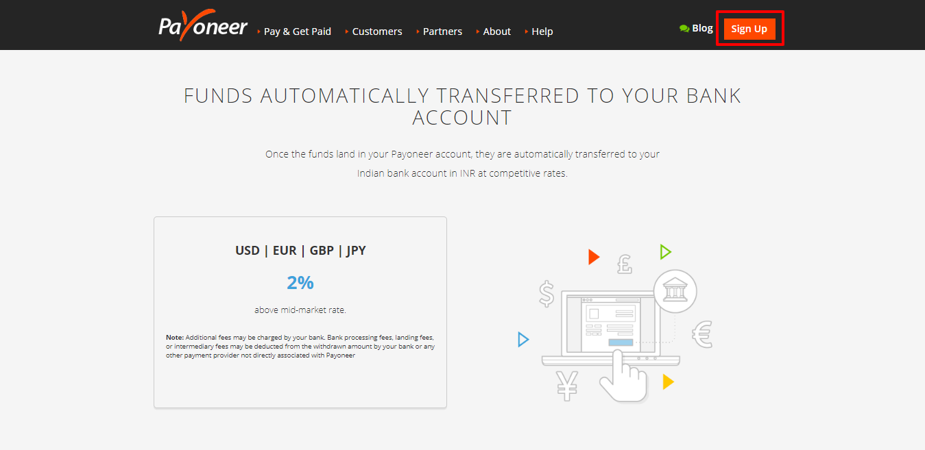 Payoneer Vs TransferWise- transfer rate