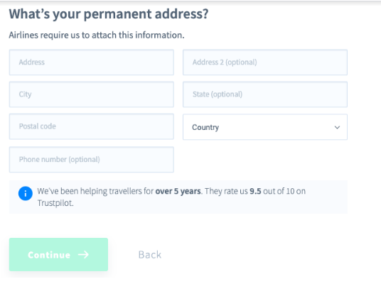 AirHelp Affiliate Program Review - Permanent Address