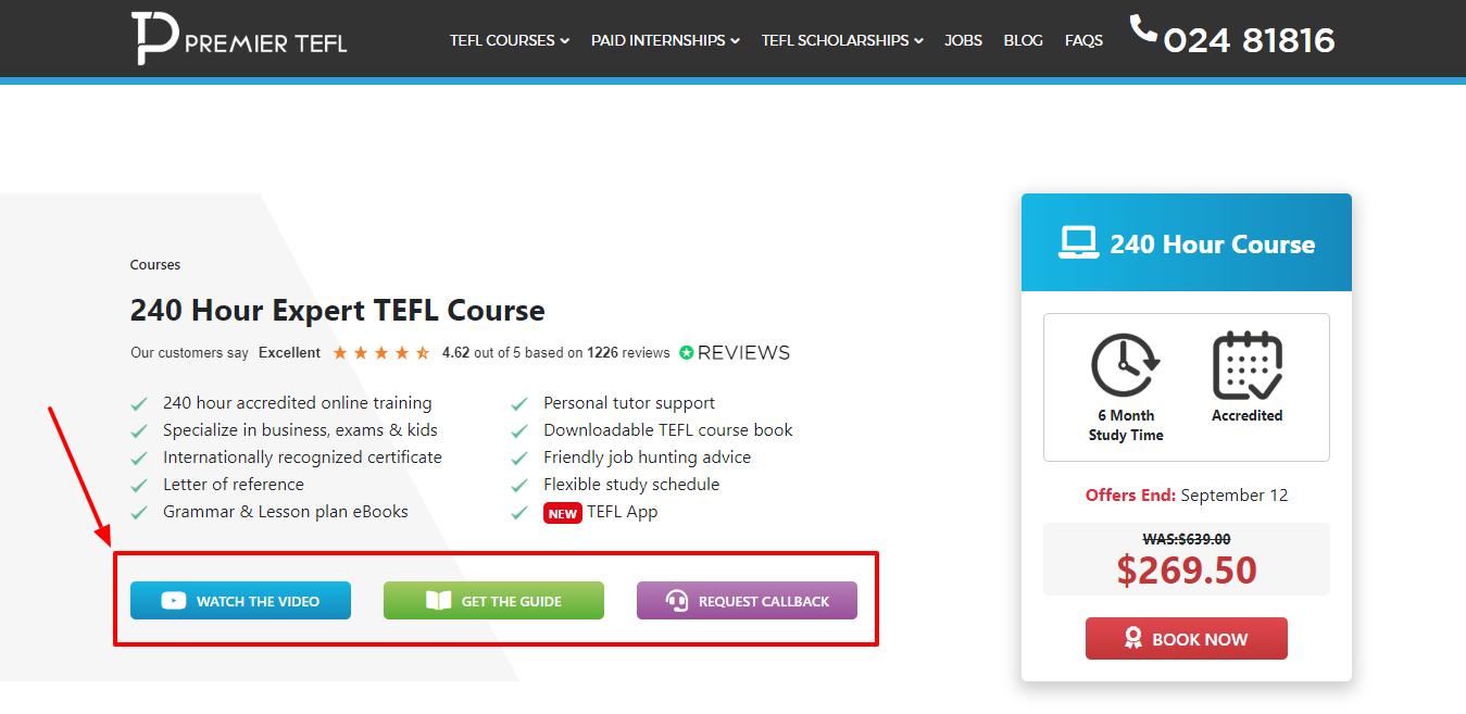 Premium 240 Hour Expert TEFL Course - Premier TEFL Review