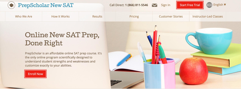PrepSchool New SAT