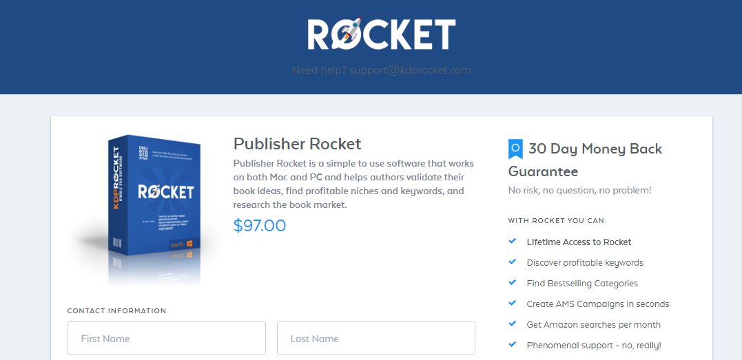 Publisher Rocket Review - Rocket