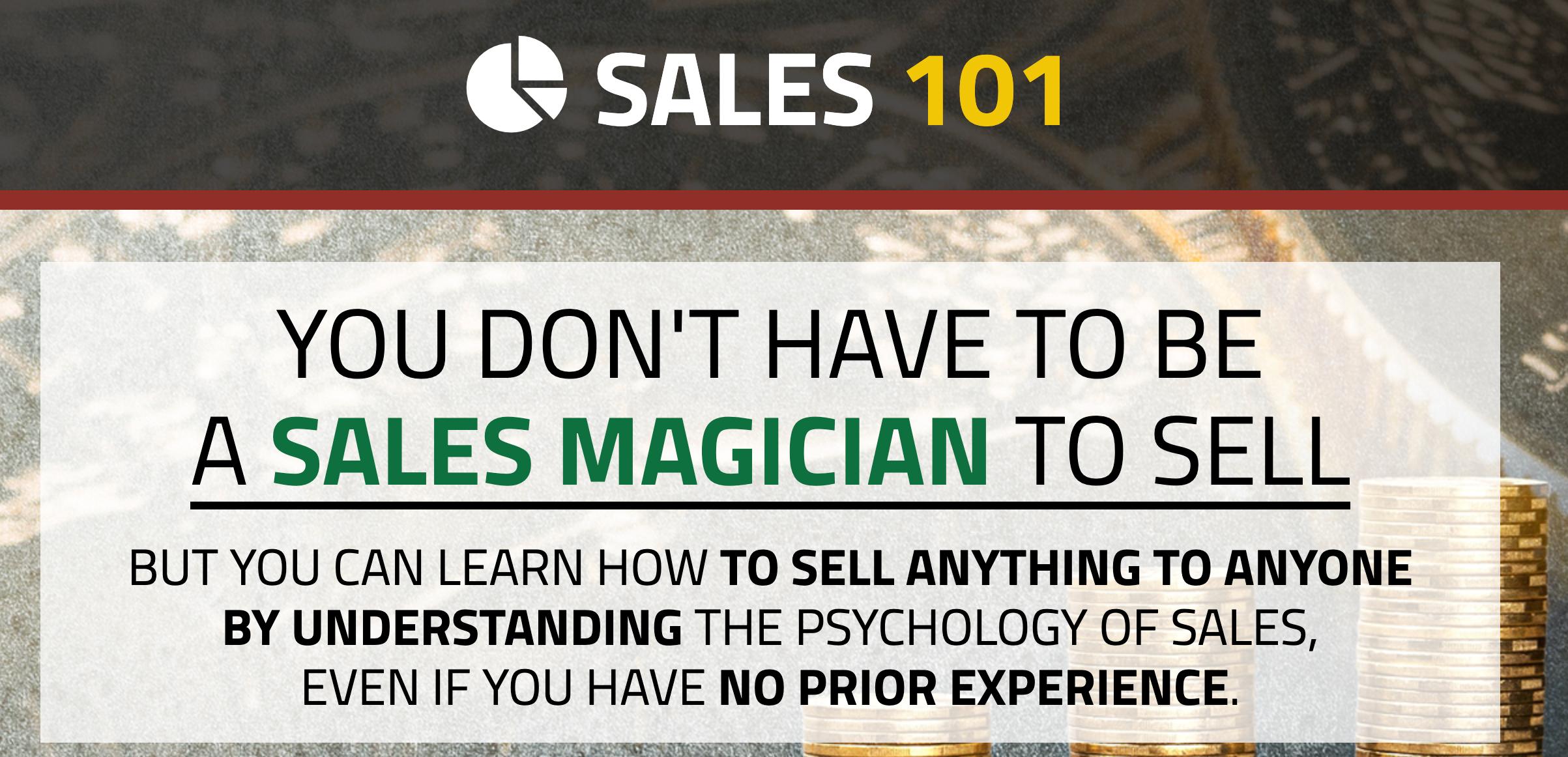 Sales 101 Course – Secret Entourage Academy