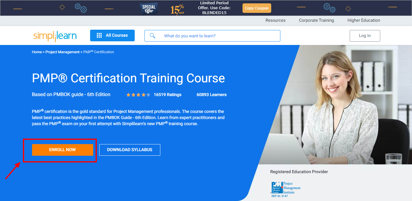 Simplilearn Review - PMP Certification