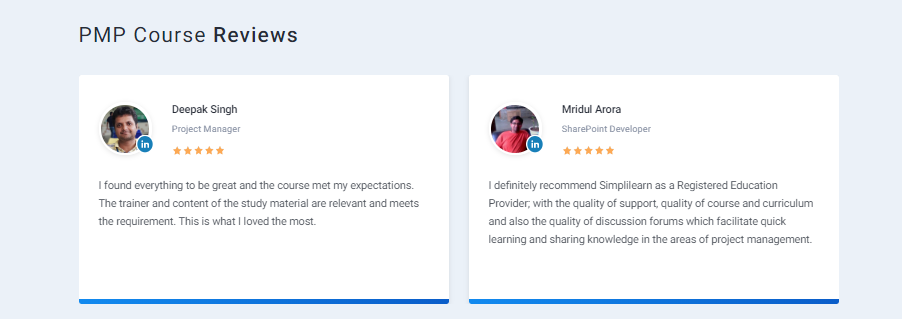 Simplilearn Review - Project Management Training