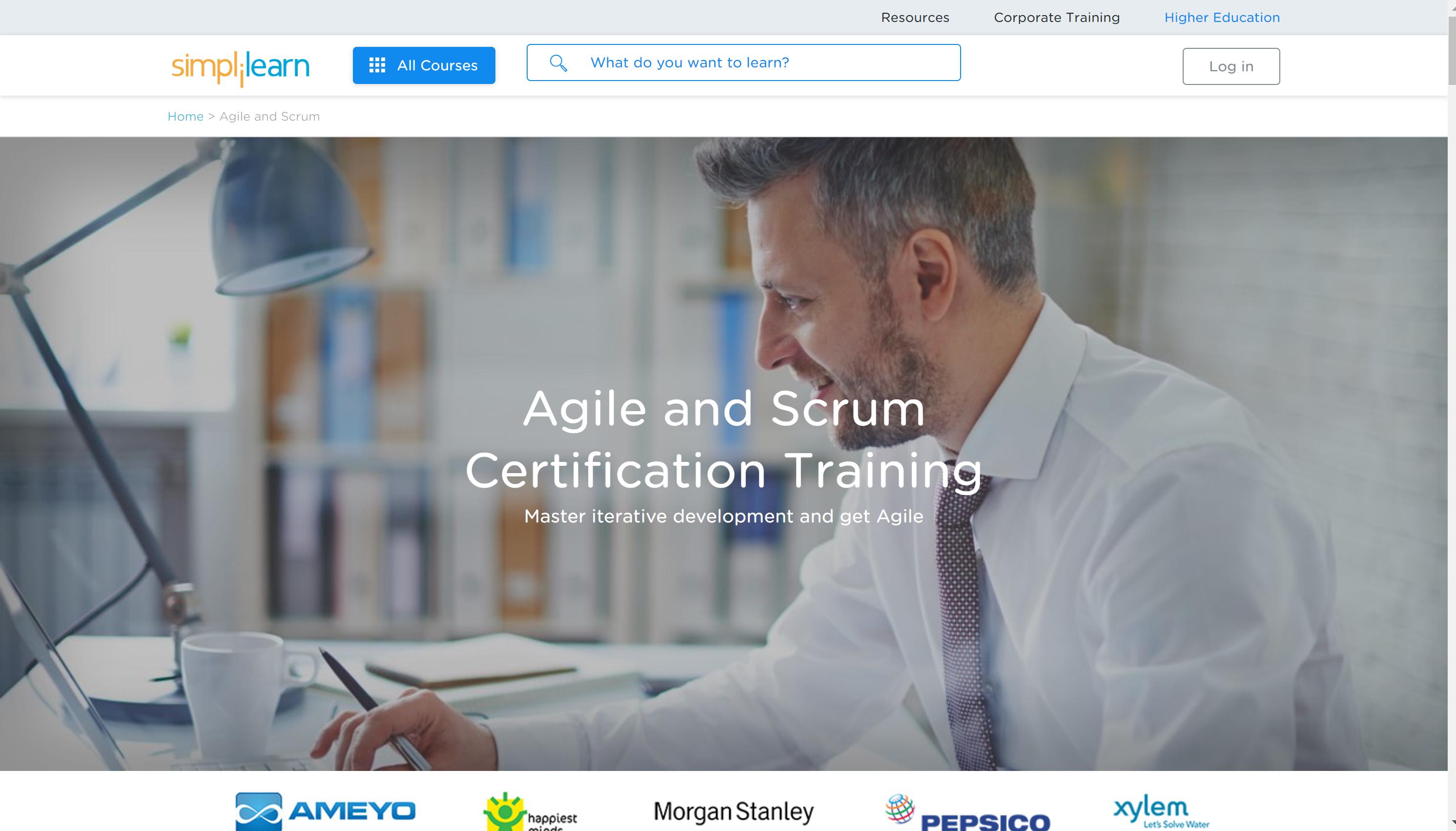 Simplilearn Scrum courses online