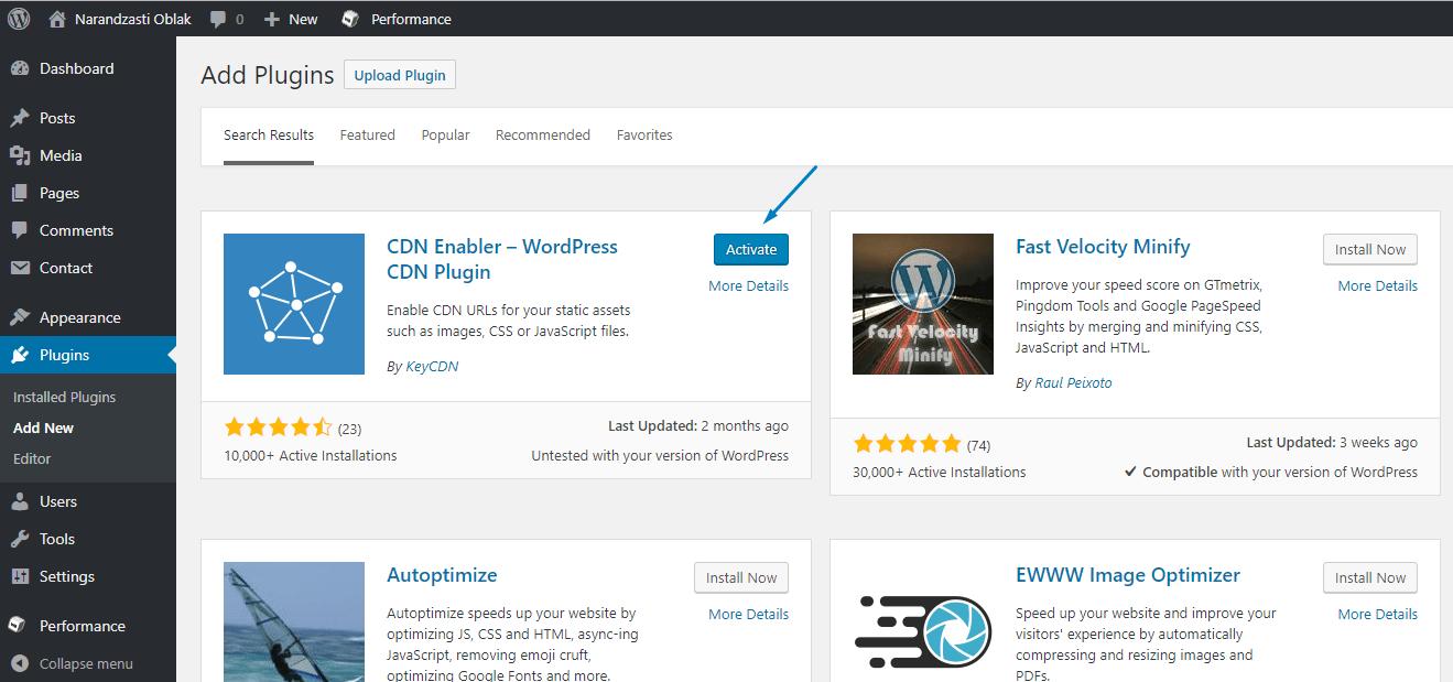 Stackpath WordPress
