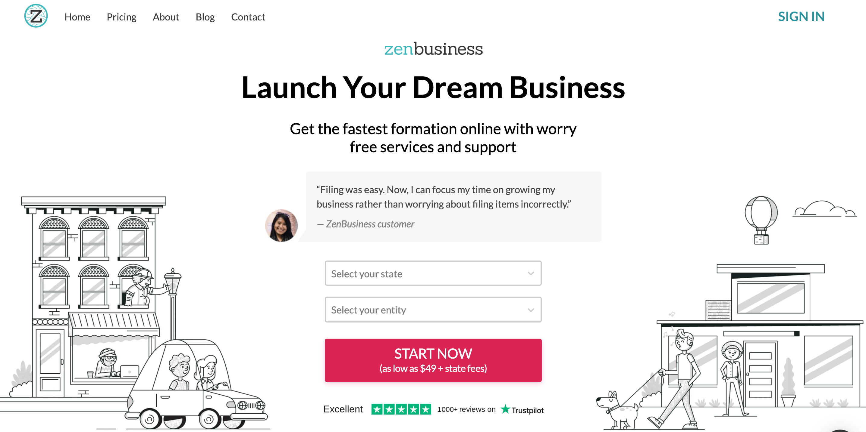 ZenBusiness- run and grow your business
