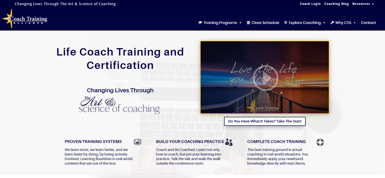7 Best Life Coaching Courses & Certification- Coach Training alliance