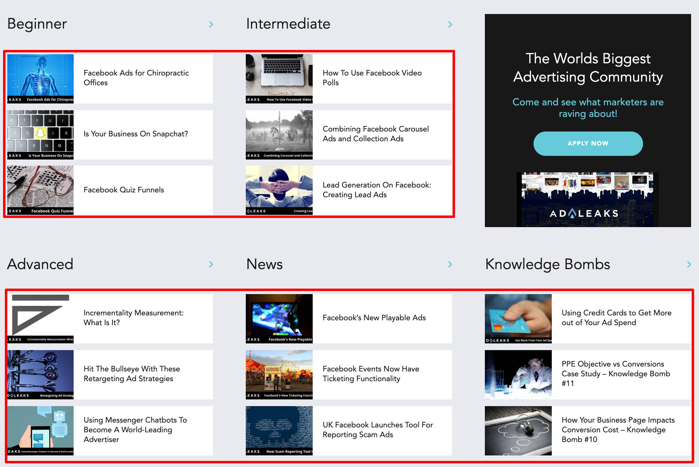 AdLeaks- Marketing Platform