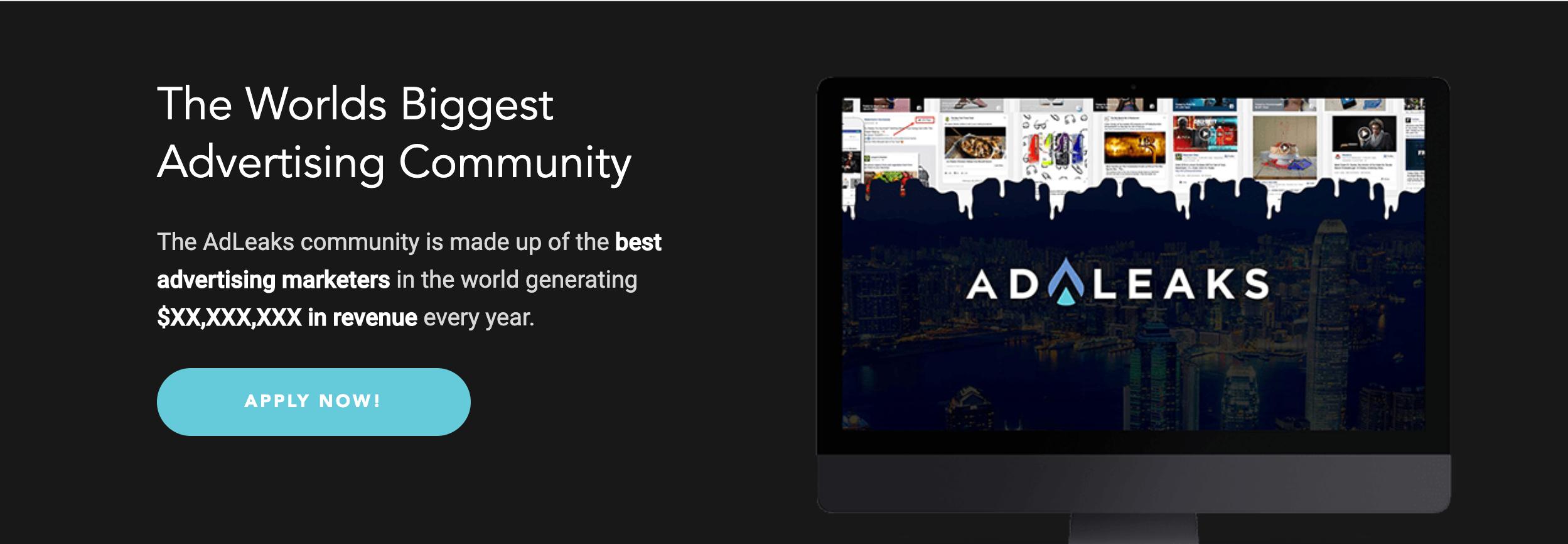 AdLeaks- World's Biggest Community