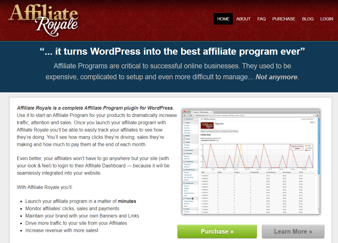 Top 10 Best Affiliate Plugins - Affliate Royal