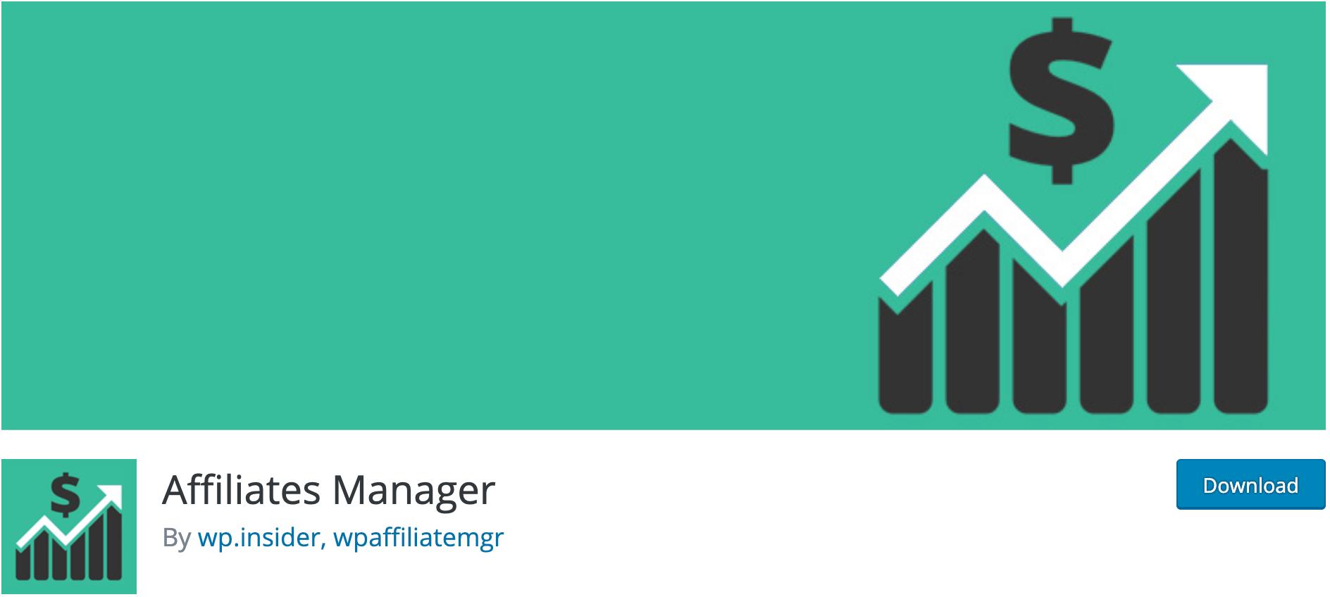 Affiliates Manager – Affiliates Plugin