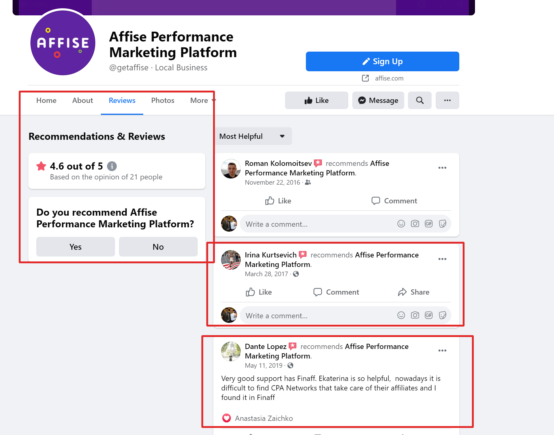 Affise performance marketing tool Reviews
