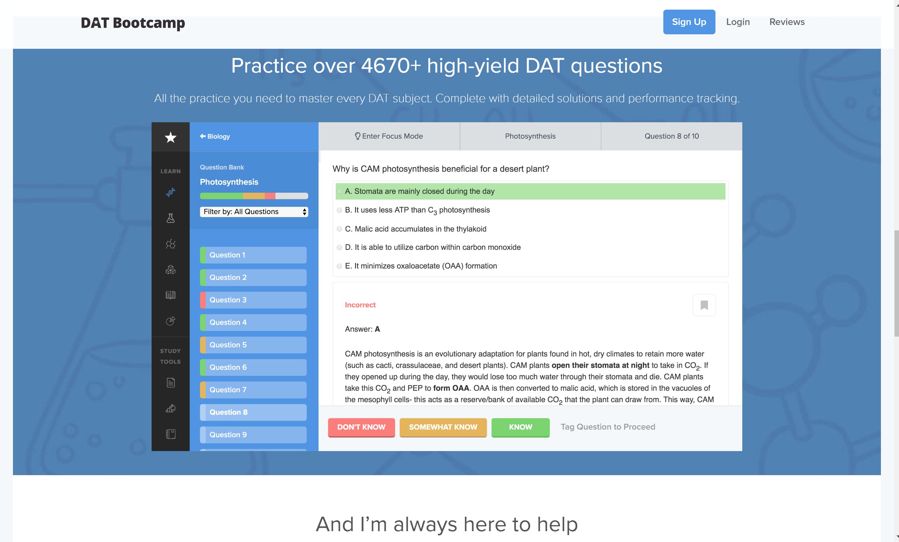 Best DAT Prep courses online