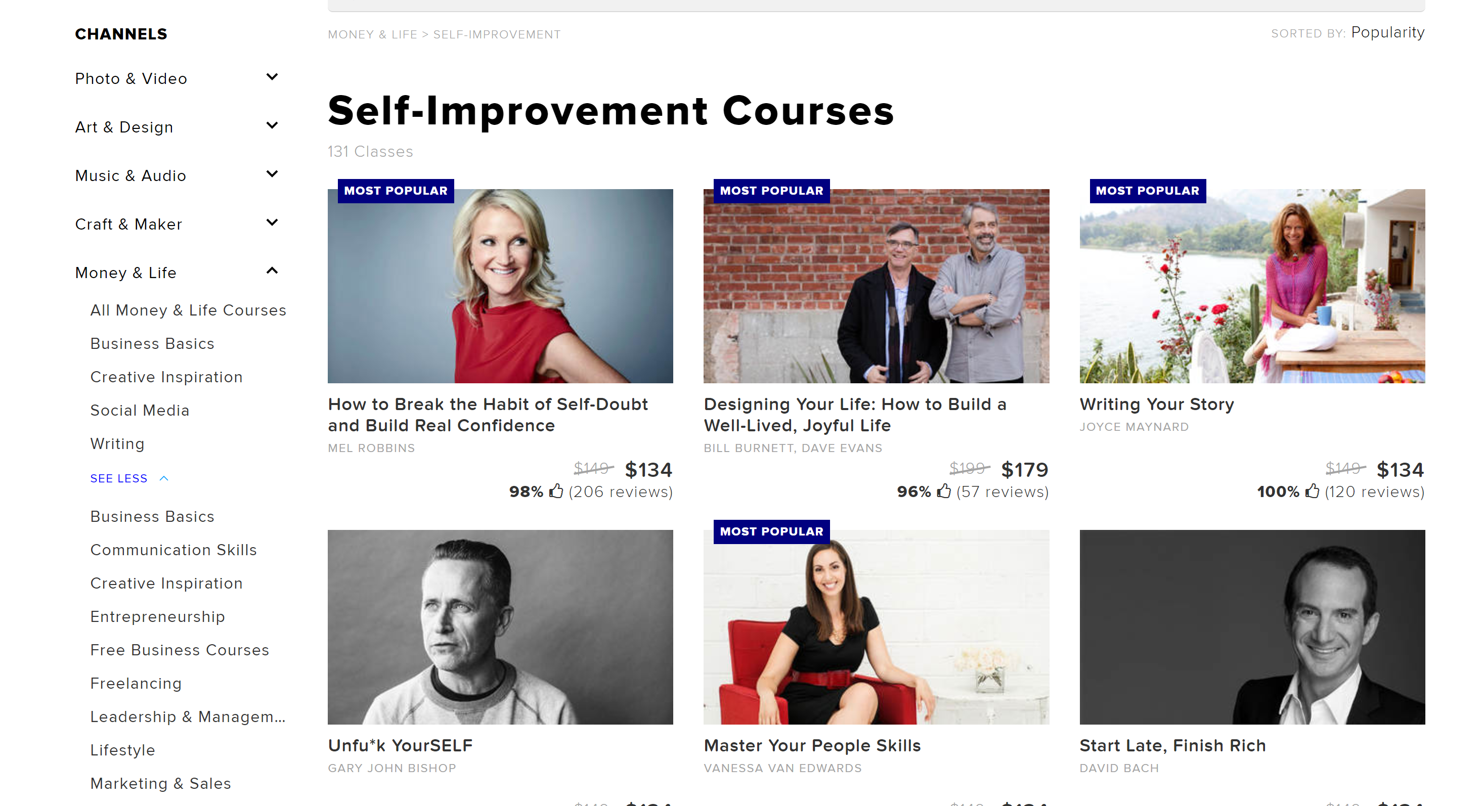 Best Self improvement courses