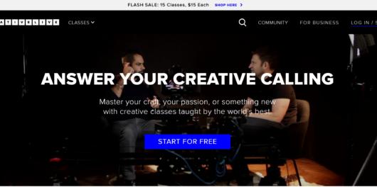 Creative live confidence classes