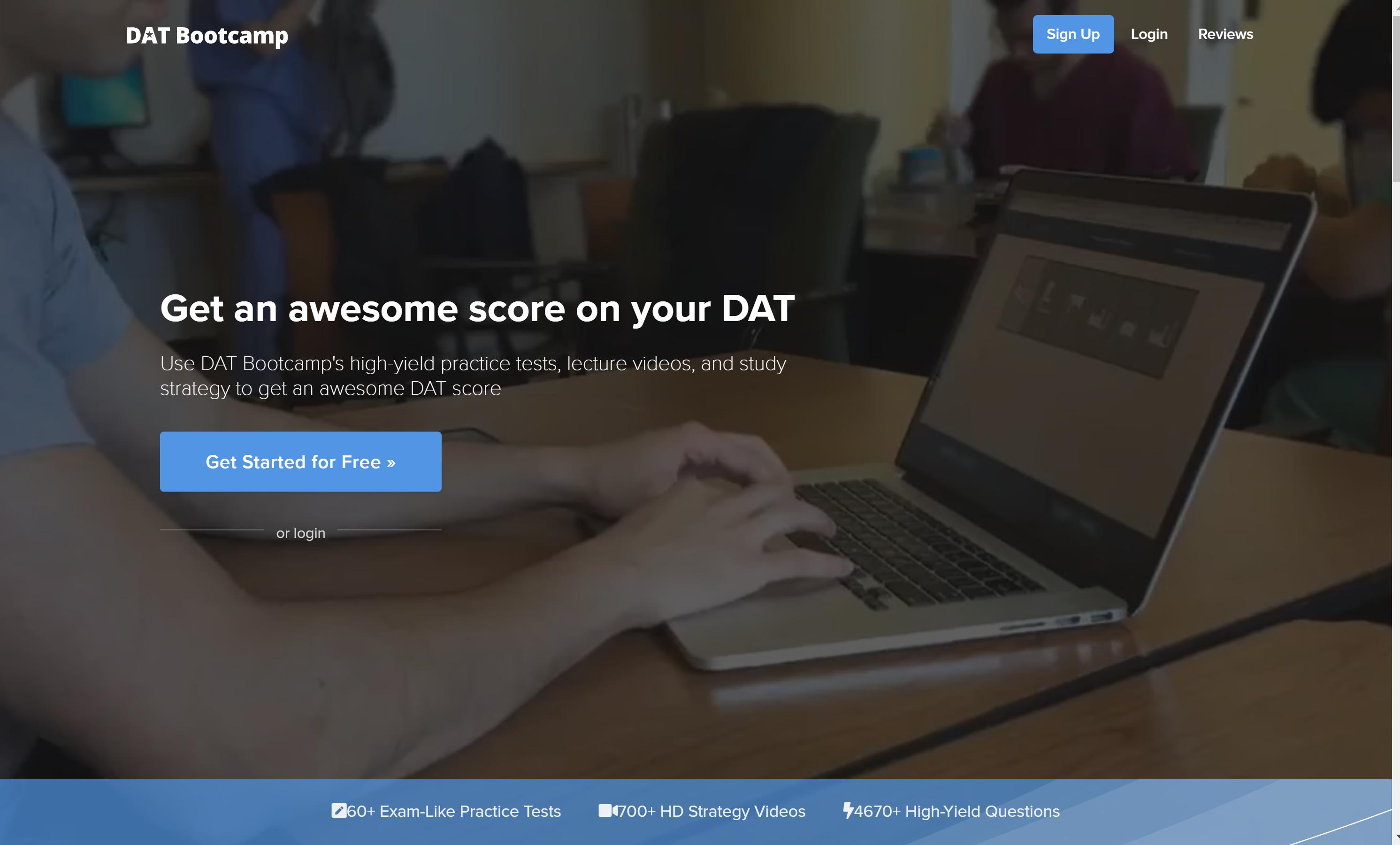 DAT Bootcamp The Best Online DAT Preparation