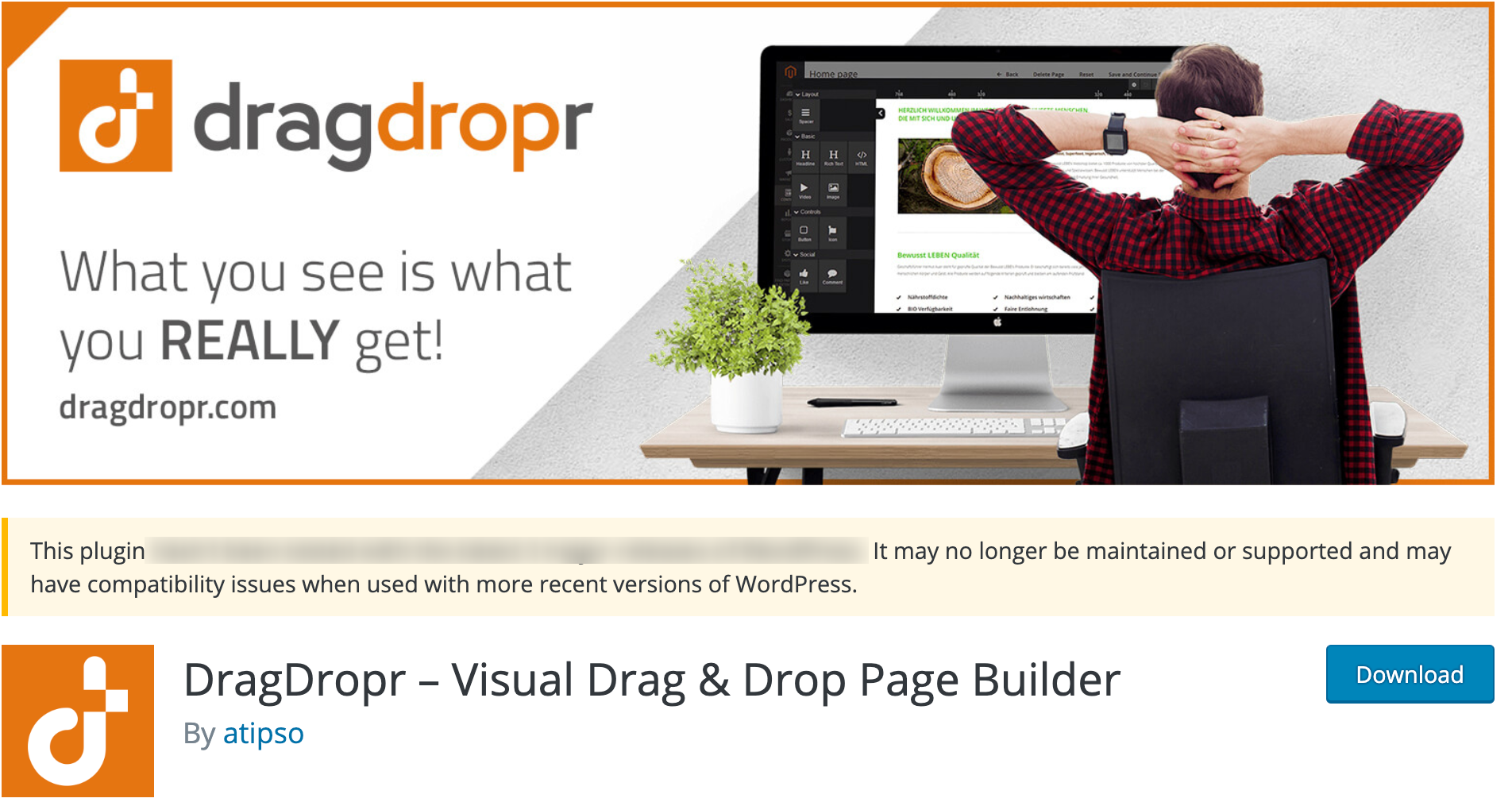 DragDropr – WordPress Plugin