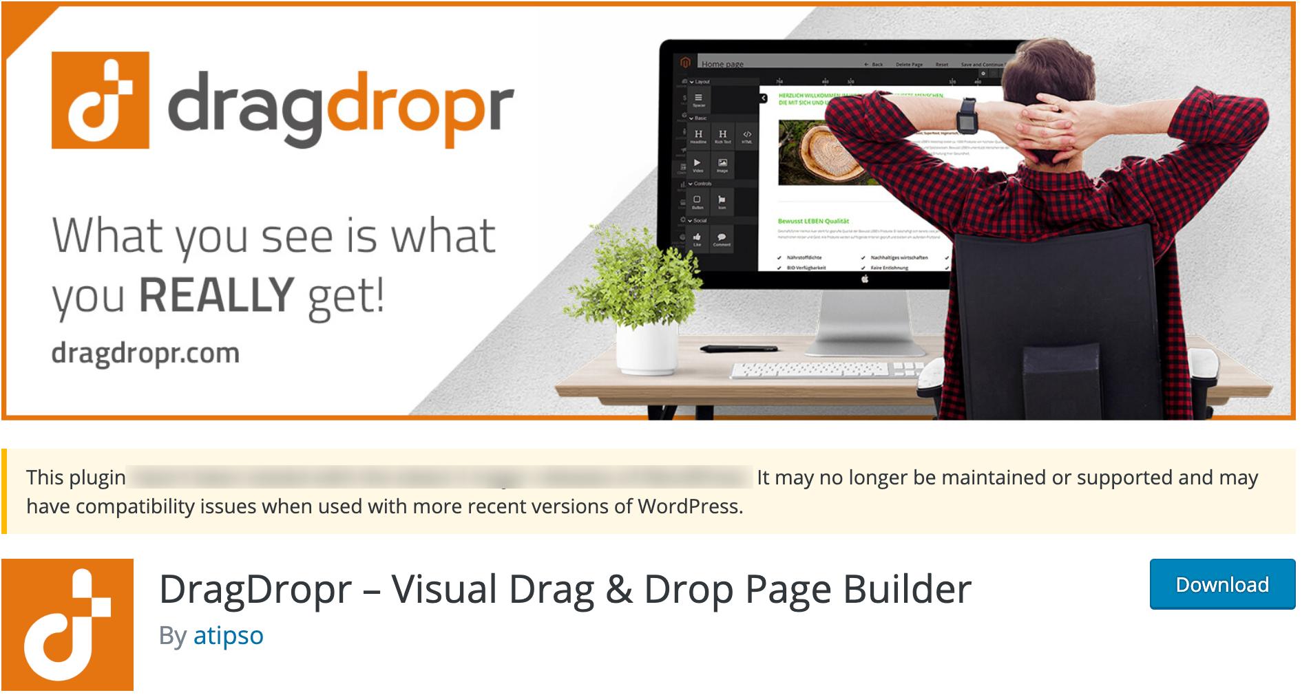 DragDropr – WordPress Plugin