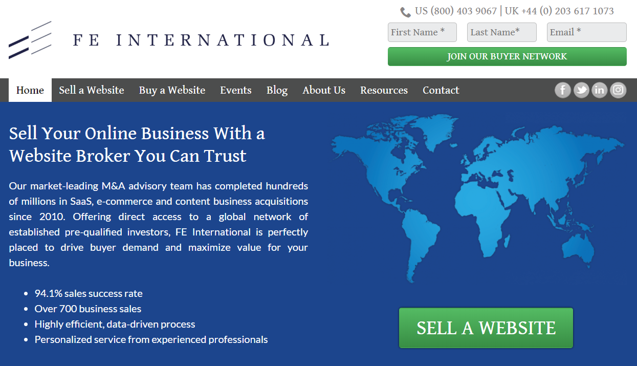 Best Affiliate Website Services To Buy In- FE International