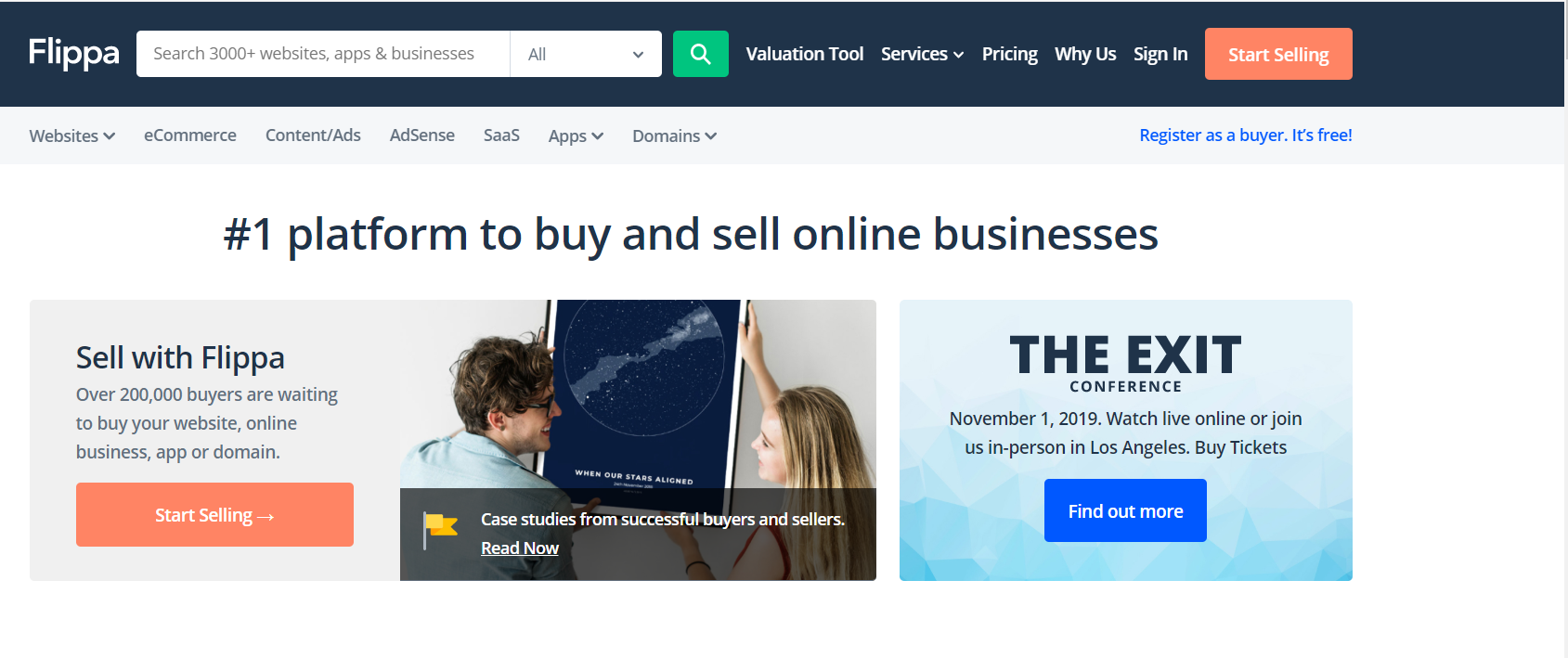 Best Affiliate Website Services To Buy In- Flippa