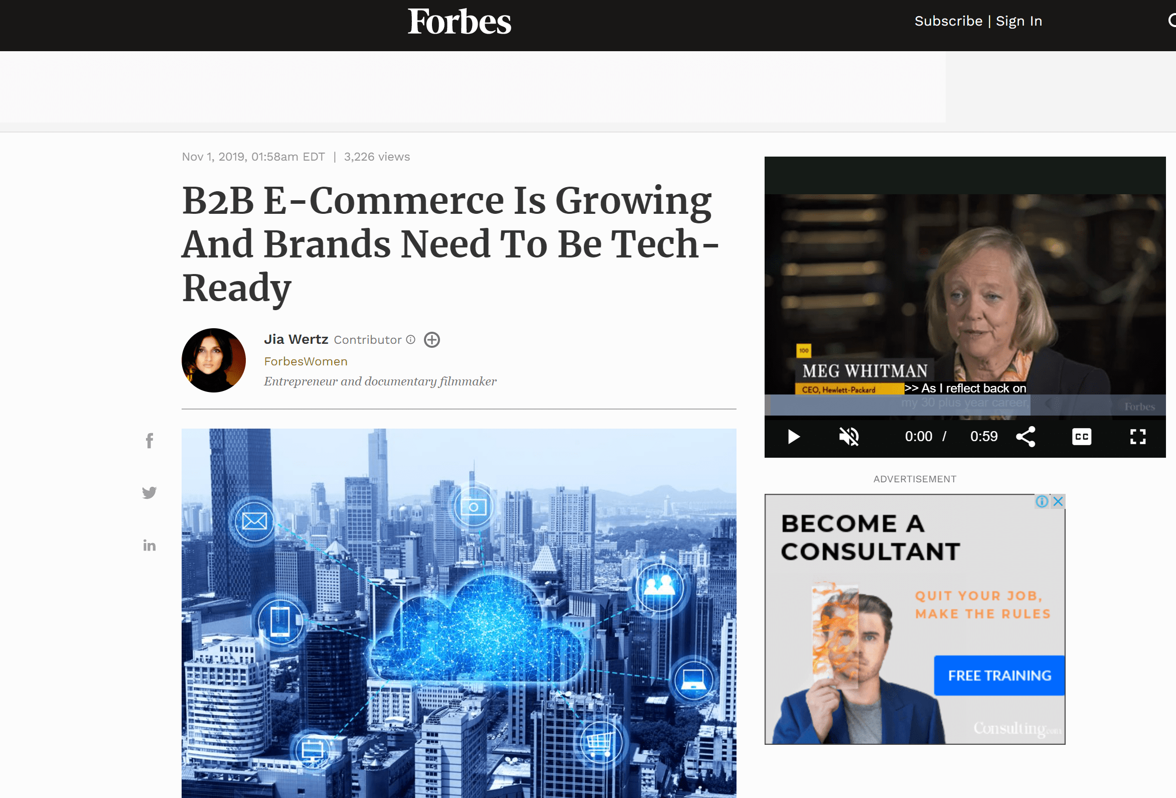 Forbes Mention Pitchground review online